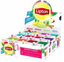 Zestaw Lipton Variety Pack mix 12 smaków 180 torebek