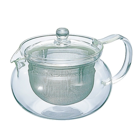 Hario Chacha Kyusu-Maru - Czajnik do zaparzania herbaty 700ml