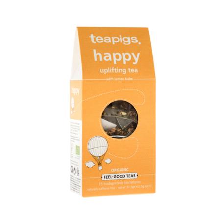 Herbata ziołowa Teapigs Happy - Uplifting Tea 15 piramidek