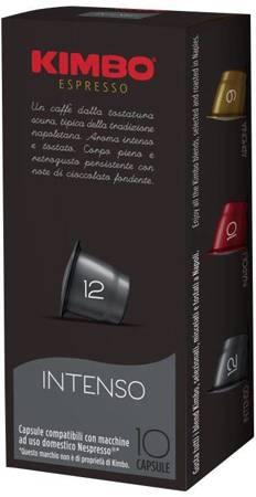 Kapsułki do Nespresso Kimbo Intenso - 10 sztuk
