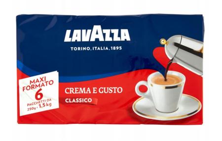 Kawa mielona Lavazza Crema e Gusto 6x250g