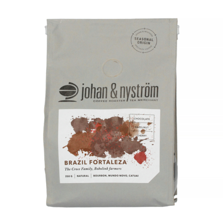 Kawa ziarnista Johan & Nyström Brazil Fortaleza 250g